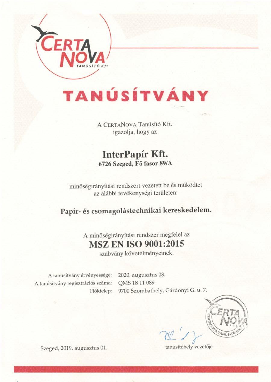 ISO-9001-2009-Minőségirányítás-2017